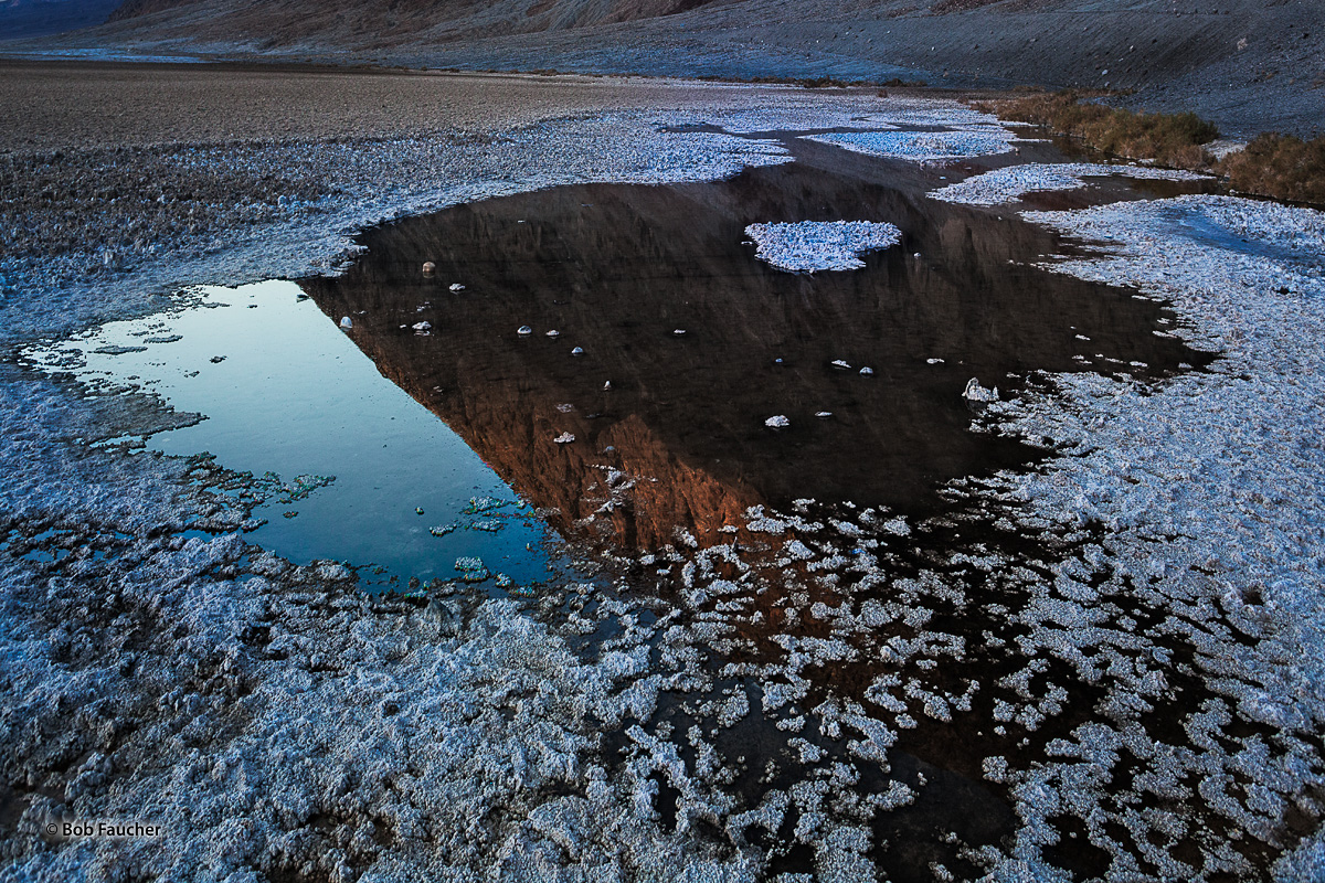 Death Valley, Badwater Basin, photo