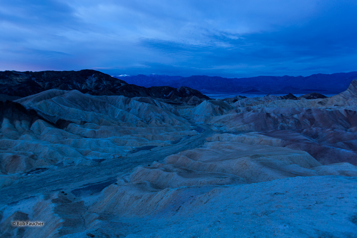 Zabriskie Point is a remarkable spot within Death Valley. It looks down on the end of the Golden Canyon trail and is especially...