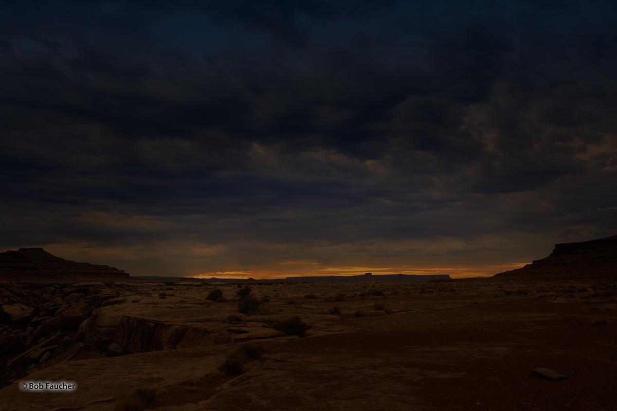 Dawn, White Rim Trail, Canyonlands NP, photo