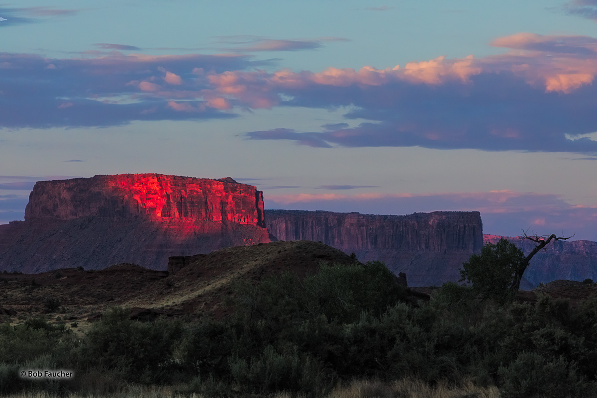 The Convent is a 5,955 foot sandstone summit located in Professor Valley. It is situated northeast of Parriott Mesa and southwest...
