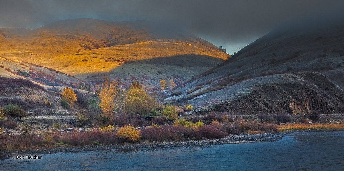 Clearwater River, Fall color, photo