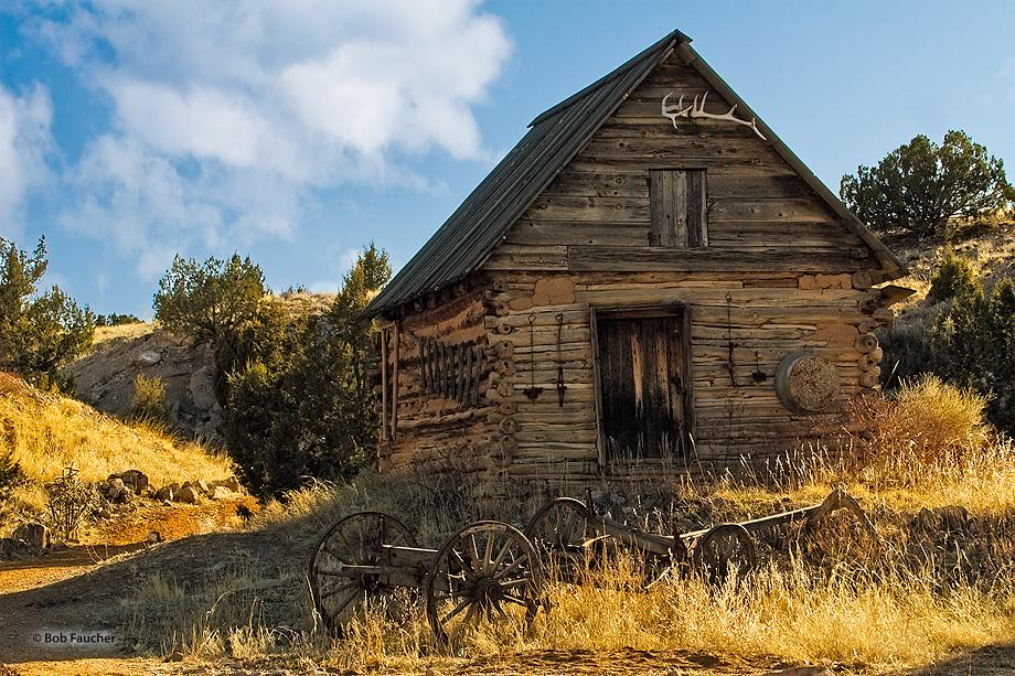 New Mexico,Golondrinas,barn,tools, photo