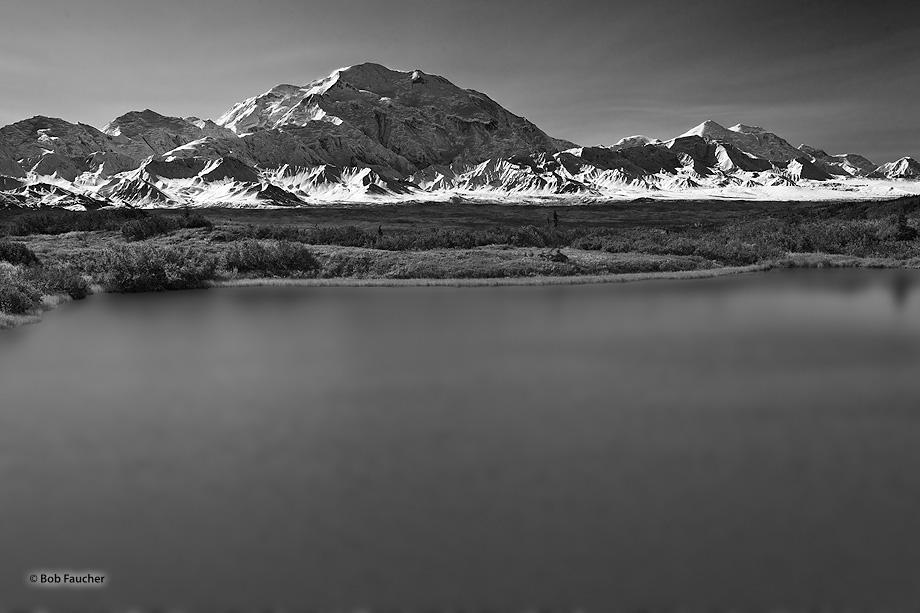 Mt. Denali,reflection pond,Denali NP,Alaska, photo