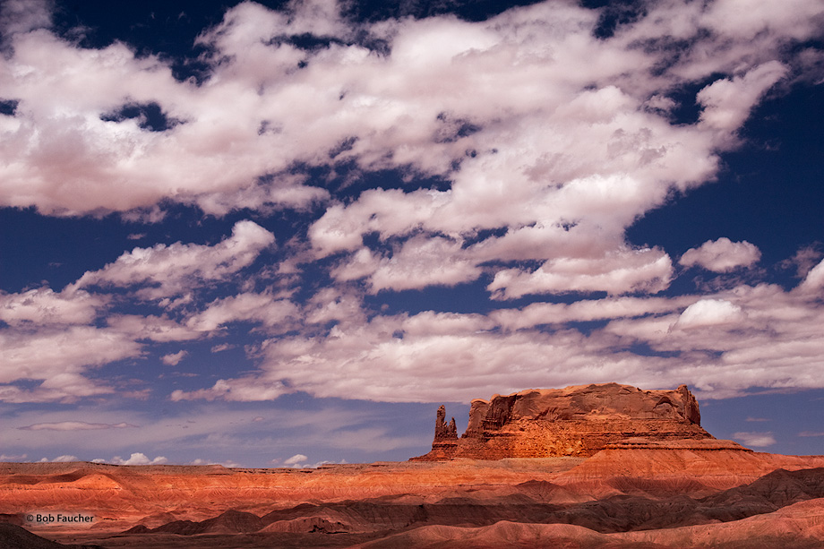 Round Rock,clouds,red, photo