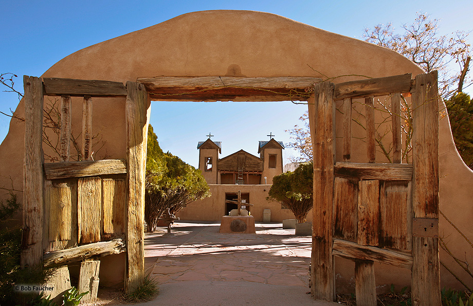 "El Santuario de Chimayo, a small church in Chimayo, N.M., probably best known for the supposedly curative powers of the ""holy..."