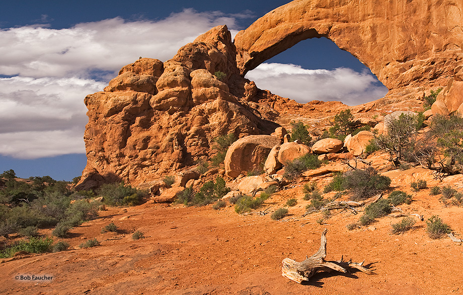 Arches NP,South Window, photo