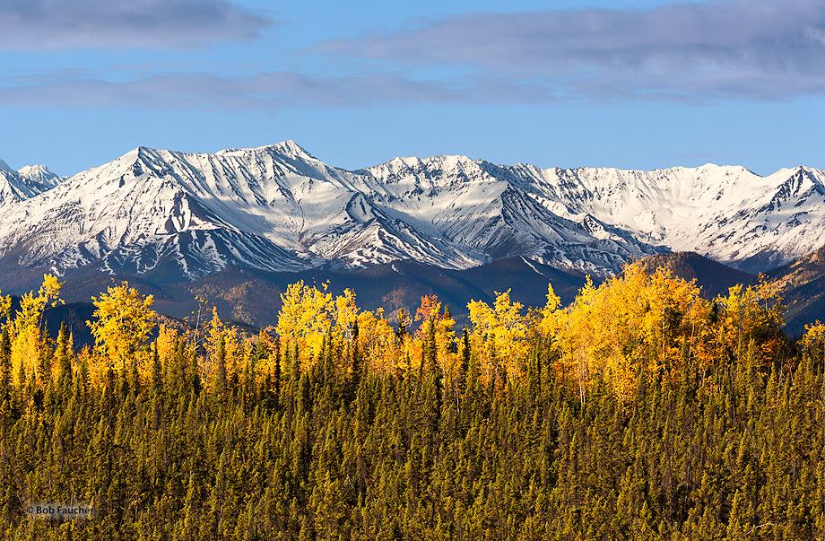 St. Elias Range,Alaskan Hiway,Yukon,Canada, photo