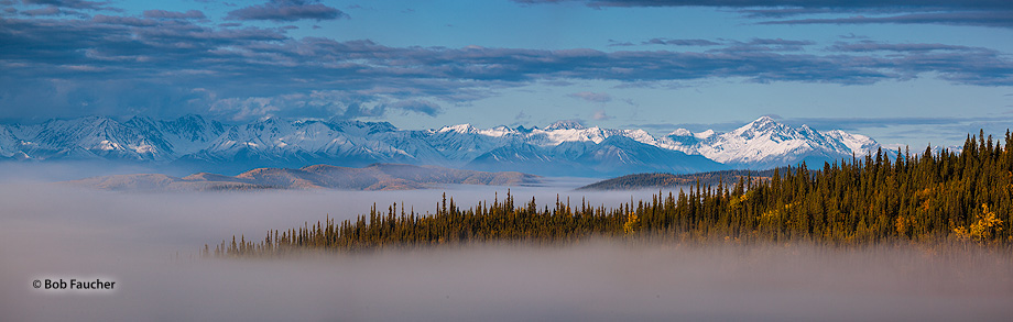 Alaska Range,Tetlin National Wildlife Refuge,Alaskan Hiway,Alaska, photo