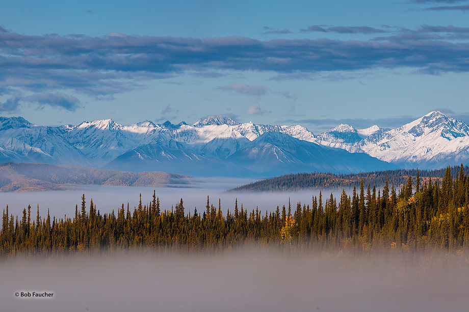 Alaska Range, Tetlin National Wildlife Refuge, Alaskan Hiway, Alaska, photo