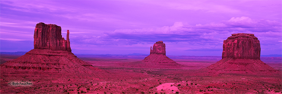 Monument Valley,Mitten Buttes,evening, photo