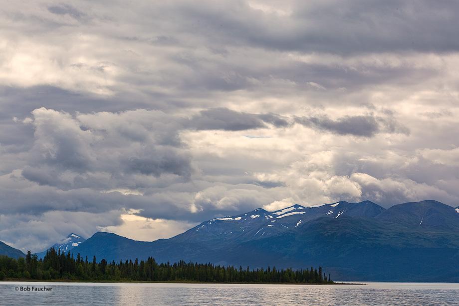 Upper Skilak Lake,Cooper Mountain,Skilak Wildlife Recreation Area,Kenai Wildlife Refuge,Kenai Peninsula,Alaska, photo