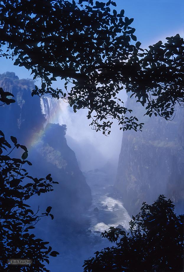 Zimbabwe,Africa,Victoria Falls,blue,chasm,rainbow, photo