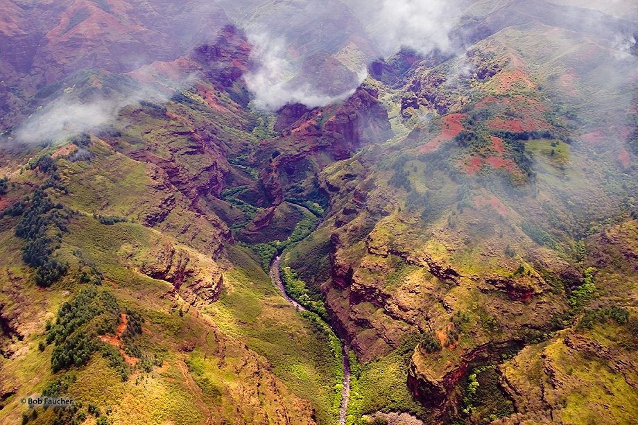 Waimea Canyon,Waimea River,Kauai, photo