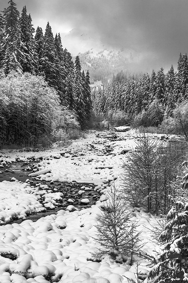 Boulder Creek, Baker Lake, Mt. Baker, photo