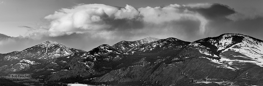 Storm,North Twentymile Peak,Cascades,Methow Valley, photo